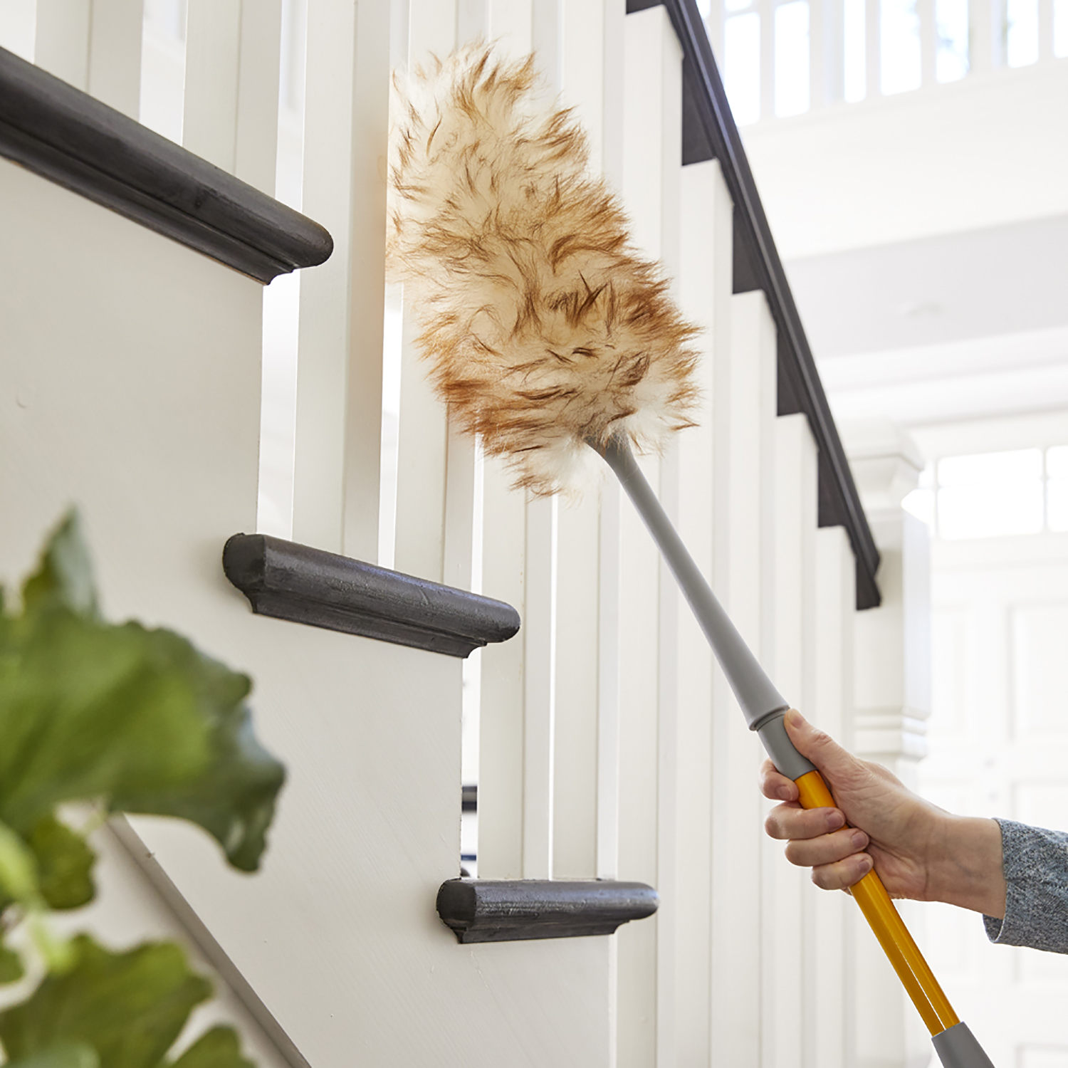 Extendable Lambswool Cobweb Duster
