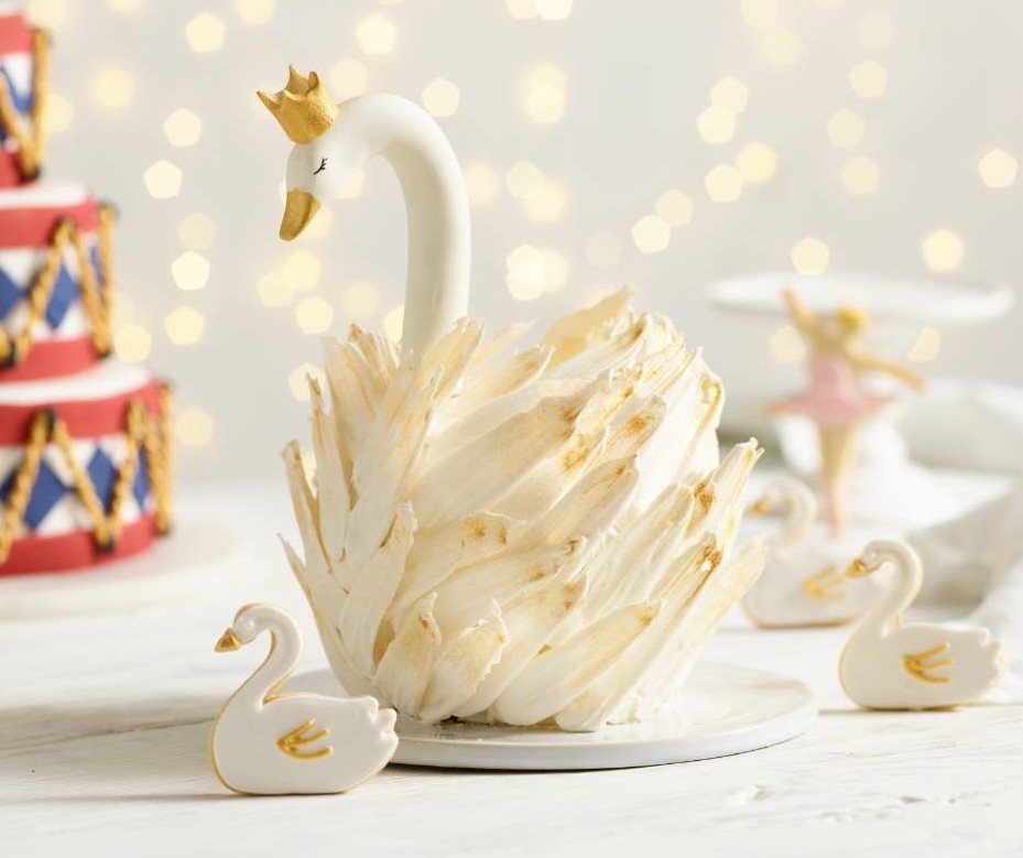 Swan Cake Recipe Nutcracker Themed Centrepiece