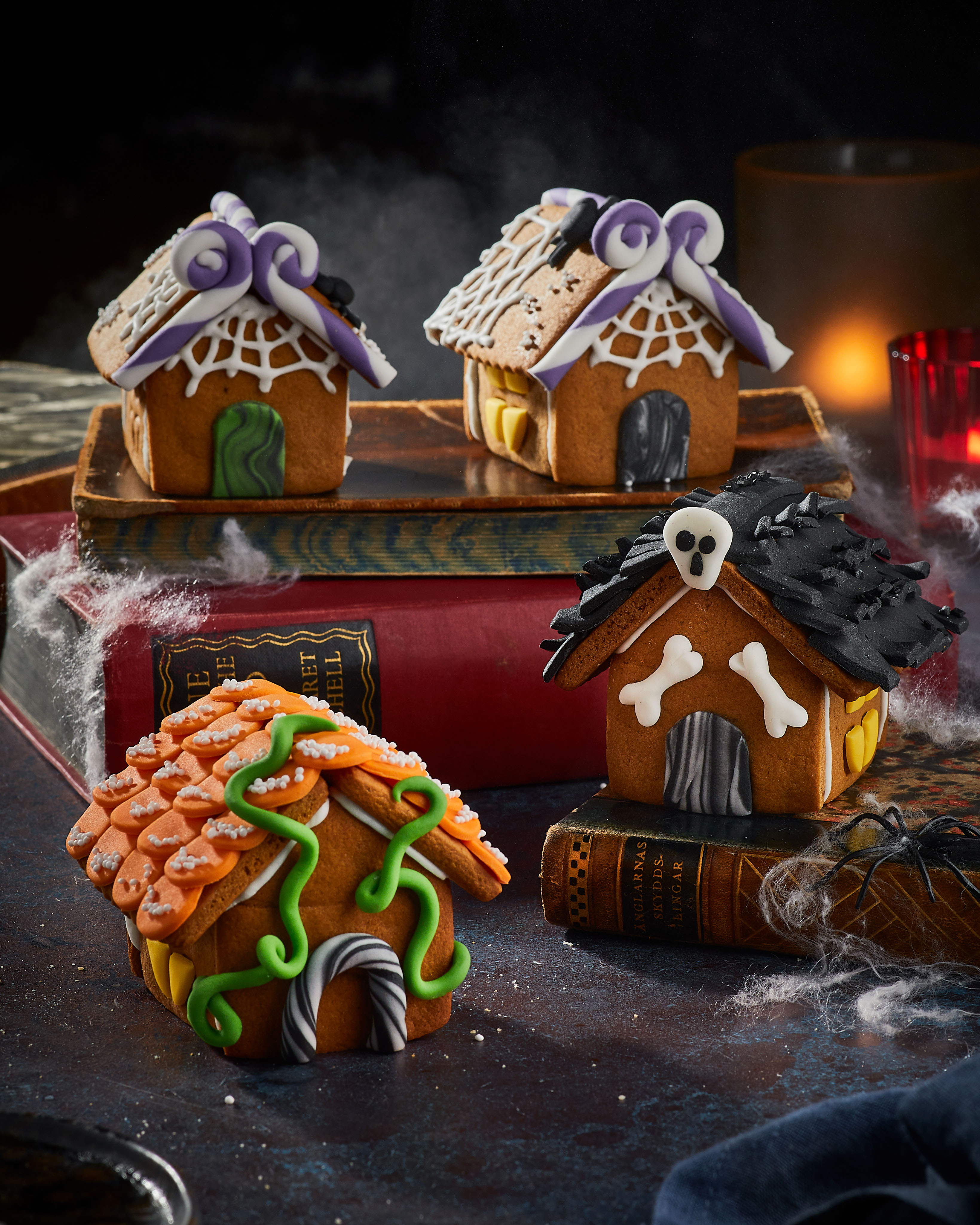 Ghoulish Gingerbread House