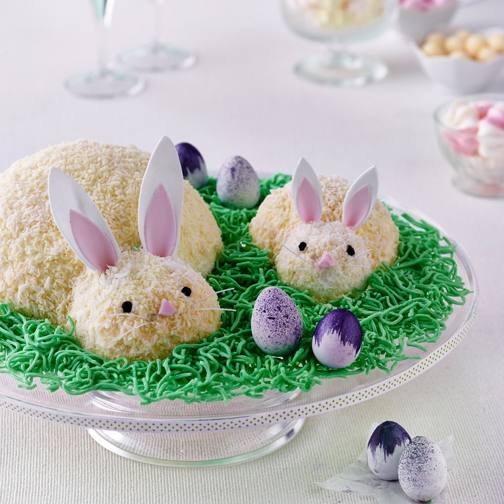 Images Of Black And White Bunny And Rabbit Cakes